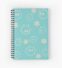 Soot Sprites Design Spiral Notebook