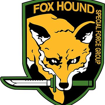 Foxhound  Shield Logo by snailgazer