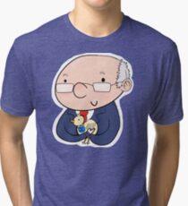 Bok Bok Bernie Sanders Tri-blend T-Shirt