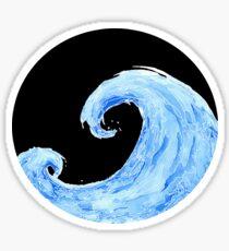 Ocean Breathes Salty Sticker
