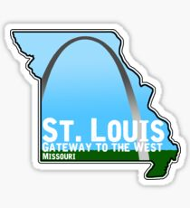 The Arch (St. Louis, MO) Sticker