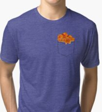What's in the Pocketolli Tri-blend T-Shirt
