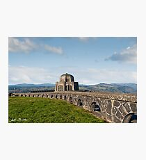 Vista House at Crown Point Photographic Print