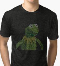 It's not easy, bein' Kermit Tri-blend T-Shirt