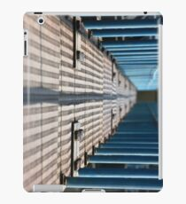 bridge over the pool with the blurred background iPad Case/Skin
