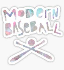 Modern Baseball Pastel Sticker