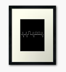 Dr Who Two Hearts Framed Print