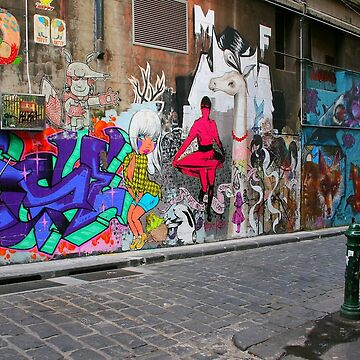 Melbourne Art by Amped