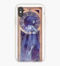 Lapis Lazuli Mucha iPhone Case