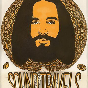 Sound Travels, 88.9 Radio Milwaukee, Design by bennyisjamin