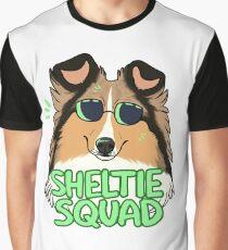SHELTIE SQUAD (sable) Graphic T-Shirt