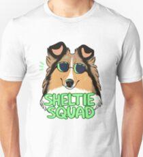 SHELTIE SQUAD (sable) Unisex T-Shirt