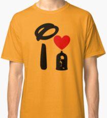 I Heart Beauty and The Beast Classic T-Shirt