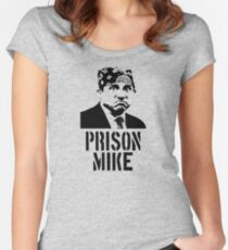 Prison Mike - The Office Women's Fitted Scoop T-Shirt