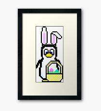 Easter Penguin Framed Print