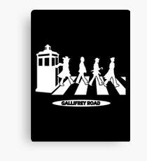 Gallifrey Road Canvas Print