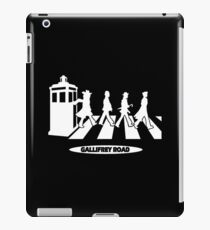 Gallifrey Road iPad Case/Skin