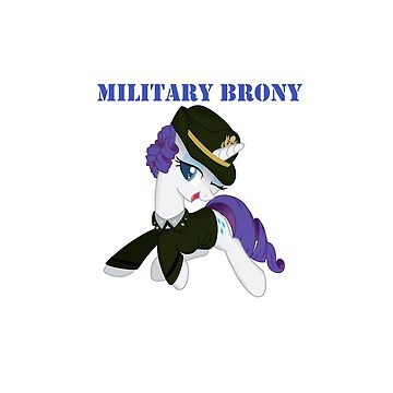 1AP Rarity Military Brony by Topkick
