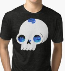 Skull Full Of Cats Tri-blend T-Shirt