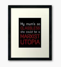 Marxist Utopia Framed Print