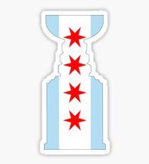 Stanley Cup- Chicago Theme Sticker