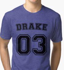 Tim Drake Sports Jersey Tri-blend T-Shirt