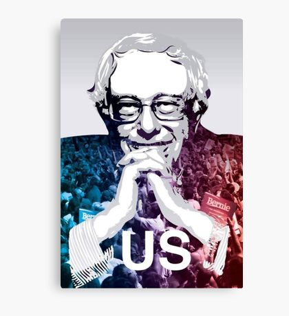 US - Bernie Sanders Art Canvas Print