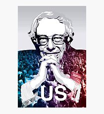 US - Bernie Sanders Art Photographic Print