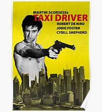 Taxi Driver Poster Travis Bickle Poster