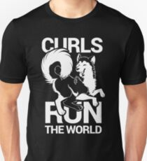 CURLS RUN THE WORLD T-Shirt