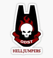 ODST Helljumpers Sticker
