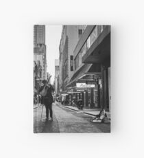 Music in the streets Hardcover Journal