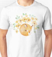 Nap under Yellow flowers T-Shirt