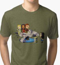 When's My Turn? Tri-blend T-Shirt
