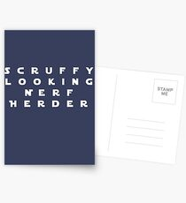 'Scruffy Looking Nerf Herder' Postcards