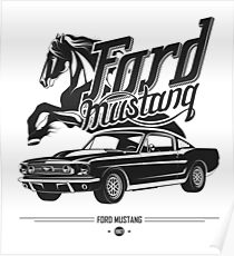 Ford Mustang 1967 Poster