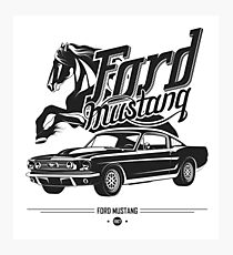 Ford Mustang 1967 Photographic Print