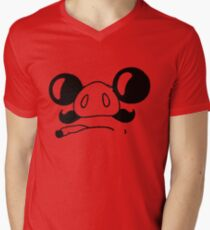 porco rosso Men's V-Neck T-Shirt