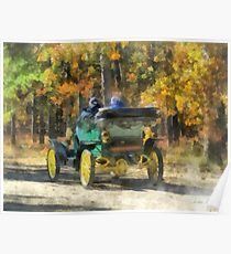 Stanley Steamer Automobile Poster