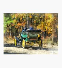 Stanley Steamer Automobile Photographic Print