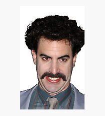 Borat Photographic Print