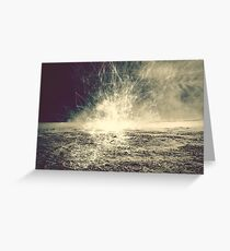 electrostorm Greeting Card