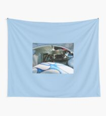 Under The Hood Wall Tapestry