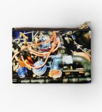 Under The Hood Abstract Studio Pouch