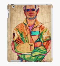 Peter Venkman (timber) iPad Case/Skin