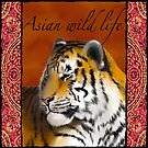 Asian Wild Life - Tiger by Martine Carlsen