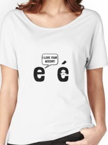 Love Accent Women's Relaxed Fit T-Shirt