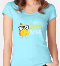 Super Mature Women's Fitted Scoop T-Shirt