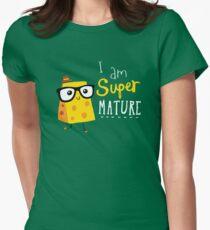 Super Mature Womens Fitted T-Shirt
