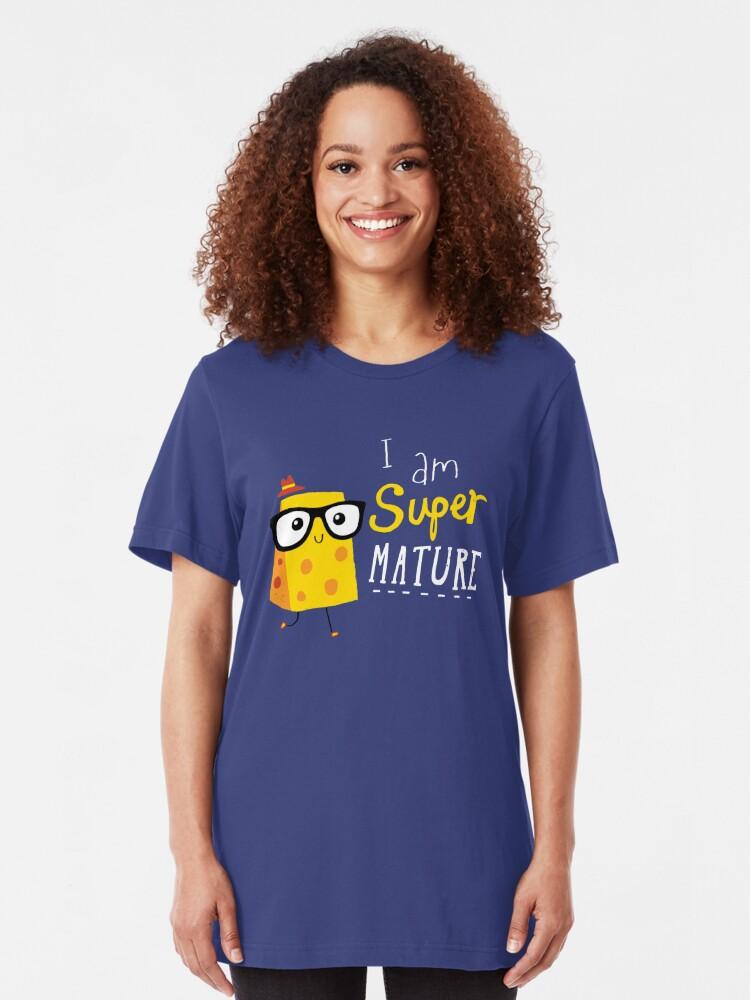 Alternate view of Super Mature Slim Fit T-Shirt